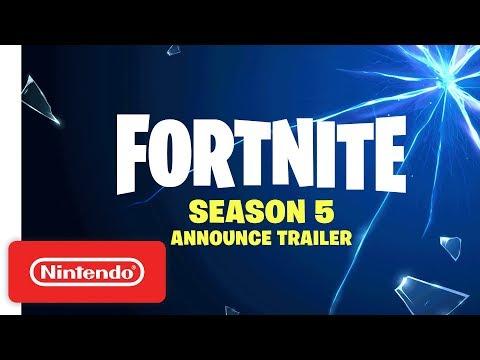 Fortnite | Season 5 Announcement Trailer - Nintendo Switch