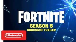 Fortnite | Season 5 Announcement Trailer - Nintendo Switch thumbnail