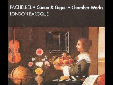 Pachelbel:Musicalische Ergotzung Partita 6 in B Flat Major