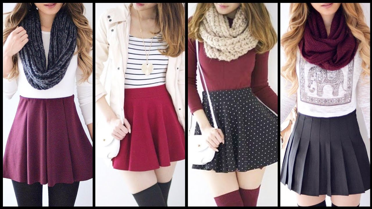 [VIDEO] - Stylish and casual and eye catching 1st day of school winter outfits that ever girl must wear 6