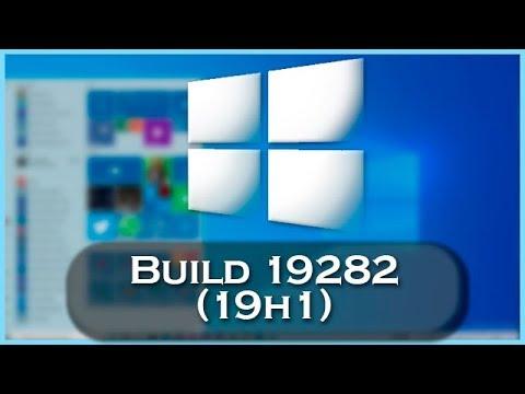 Windows 10 Build 18282 | NOVO TEMA, NOVO WALLPAPER BARRA DE BRILHO,