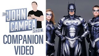 If Schumacher' s Batman Was Better What Would Comic Movies Be Like Today - TJCS Companion Vid