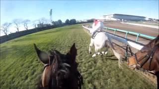騎手課程33期生 第6回模擬レース 川又賢治 ヘルメットカメラ