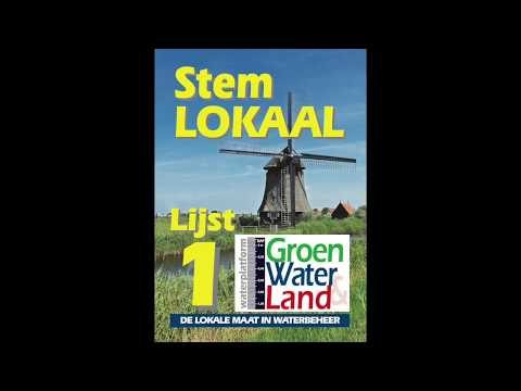 Groen, Water & Land over verkiezingen 2019