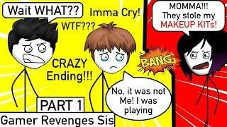Video When A Gamer Finally Gets REVENGE On His Sister   Part 1 download MP3, 3GP, MP4, WEBM, AVI, FLV Agustus 2018