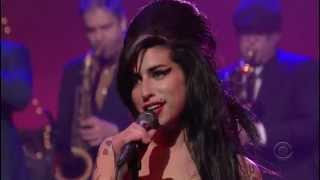 Amy Winehouse - Rehab (Live on David Letterman)
