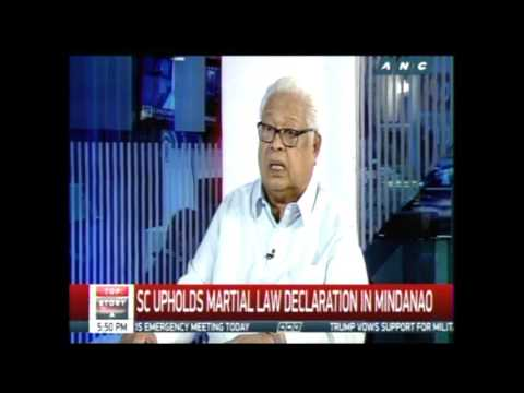 Lagman asserts no sufficient basis for Mindanao martial law