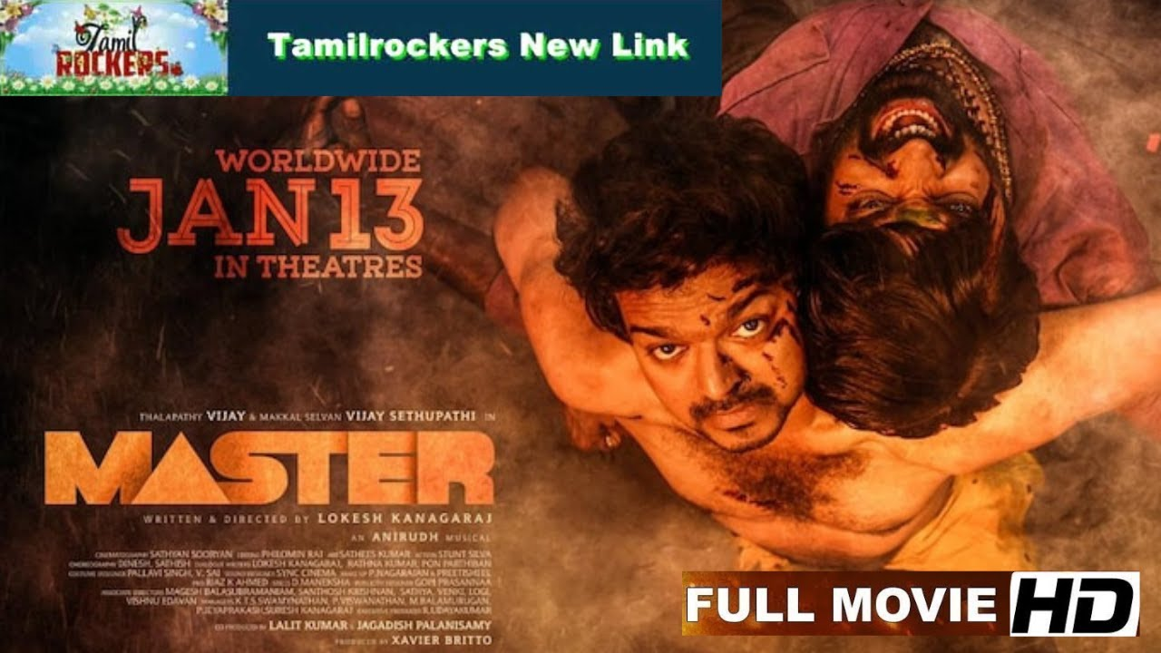 """Download """"Master"""" Movie Full HD Available For Free Download On Tamil Rockers Site"""