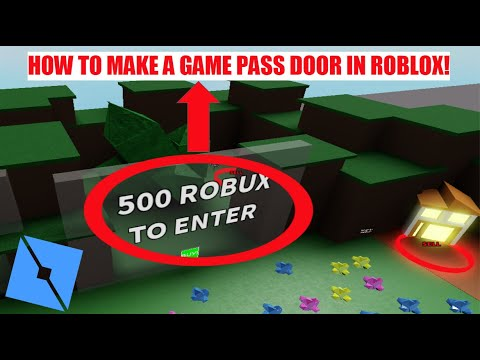 how to make a game pass on roblox