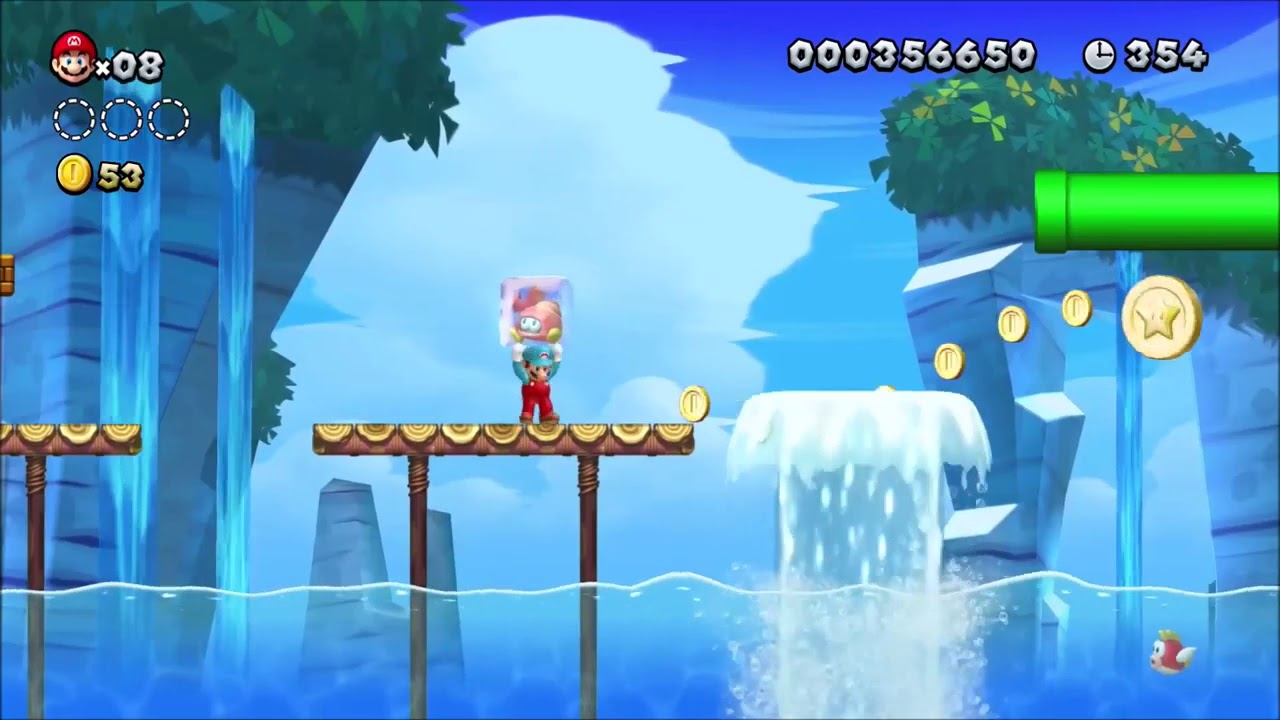 new super mario bros u deluxe gameplay