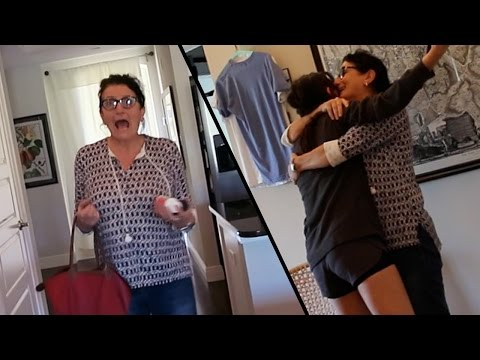 DAUGHTER SHOCKS HER MOM WITH SURPRISE VISIT