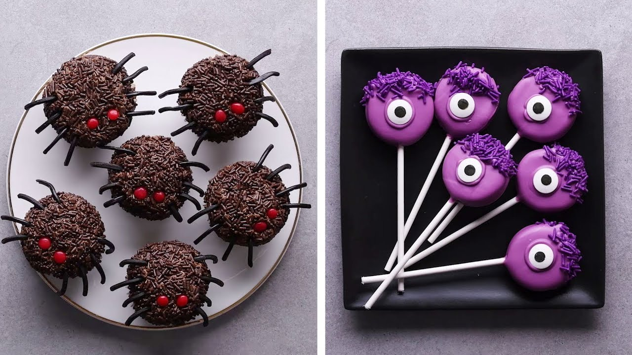 Last Minute Halloween Treats Halloween Recipes Diy