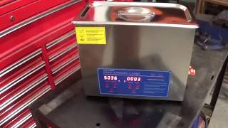 Ultrasonic Cleaner        Carb Cleaning the easy way!