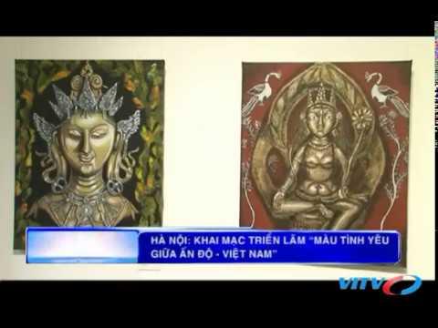 3rd International Art Exhibition 2017, News Coverage VITV, Hanoi, Vietnam