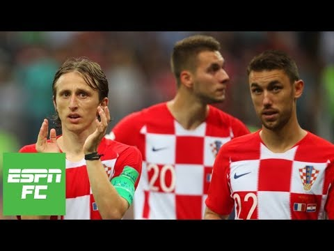 Praising Croatia for their incredible run to 2018 World Cup final | ESPN FC