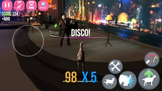 [Goat Simulator GoatZ] Disco Dance With Chainsaw Maniac