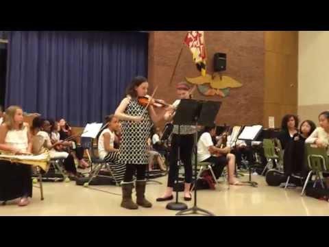 Brooke Rathell & Kaia Frankenberg DUET @ Brooklyn Park Elementary School