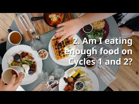 The Biggest Mistakes On Cycles 1 And 2 Of The 17 Day Diet