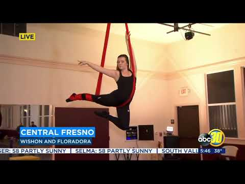 New aerial classes at California Arts Academy in Fresno