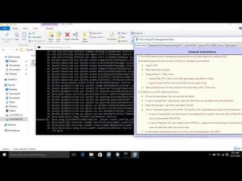 How to run Jar files in Windows 10 using CMD