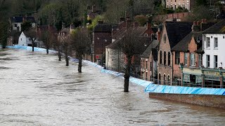 Storms cause flash flooding across West England