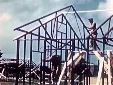Steel Frame Housing Construction 1940's