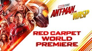 Marvel Studios' Ant-Man and The Wasp Red Carpet World Premiere