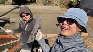 2 vợ chồng Trãi nghiệm làm thợ hồ cùng người mỹ ôi kinh khủng mệt(Cuộc Sống Người Việt Ở Mỹ)#261