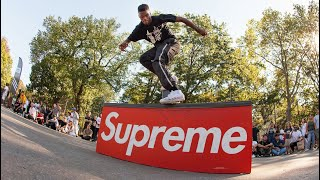 "Tyshawn Jones Skater Of The Year 2018 - Sponsored By: Supreme ""BLESSED"""