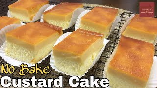 Steamed Custard Cake | KitcheNet Ph