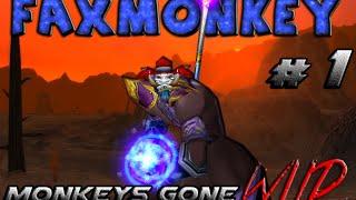 Faxmonkey 1 - Monkeys Gone Wild - Vanilla Level 60 Troll Mage PVP