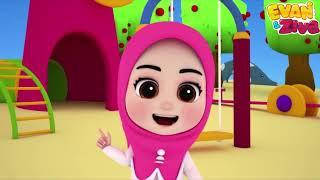 Lagu Anak Balita Islami – Nama Hari Bahasa Arab – Evan dan Ziva Lagu Anak Islami