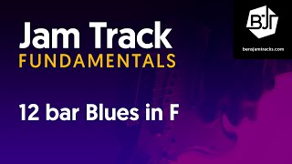 12 bar Blues in F Jam Track - BJTF #4-6