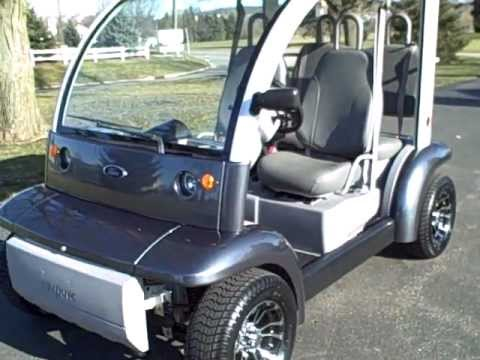 Motor Vehicle Bill Of Sale >> 2002 Ford Th!nk 72 volt Electric Vehicle - golf cart - LSV NEV - Ford Think 4 passenger - YouTube
