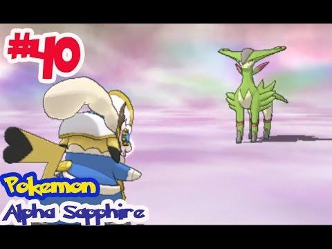 "Pokémon Alpha Sapphire - Ep40 จับ ""วิริซิออน"" Virizion โปเกม่อนในตำนาน"