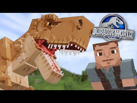 LETS MAKE SOME DINOSAURS!!! - Jurassic World Minecraft DLC   Ep1
