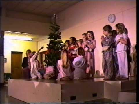 Wildground infant School, Christmas show- December 1997
