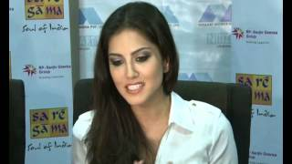 SUNNY LEONE on Olympics & supporting India or US at Sa Re Ga Ma Event - Part 4