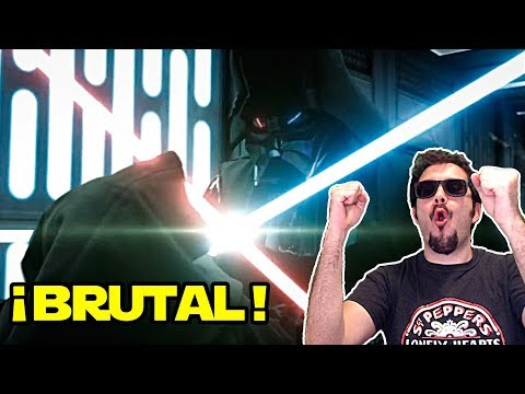 OBI WAN vs DARTH VADER | REMASTERED | ESPAÑOL | REACCIÓN | ¡Qué pasada!