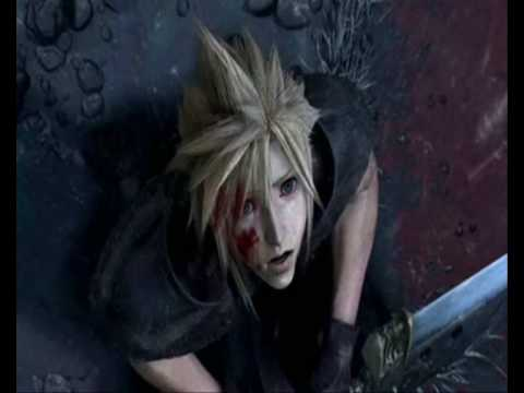 Cloud, Zack, Aerith Hear you me May angels lead you in