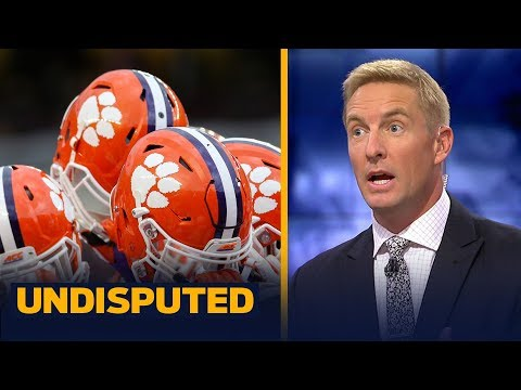 Joel Klatt: Alabama's biggest threat is Clemson after Week 10 — not Michigan | CFB | UNDISPUTED