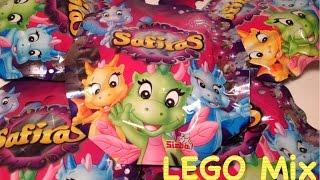 Р N34 - SAFIRAS ДРАКОНЧИКИ Сафирас - відкриваємо нові пакетики з іграшкою дракона