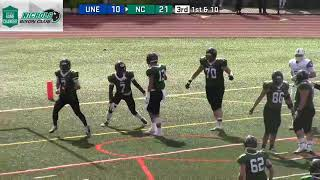 Gambar cover Nichols College Football vs UNE 9-29-18