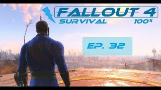 Fallout 4 Survival 100% - Ep. 32 - Mass Pike Tunnel, Fens Street Sewer