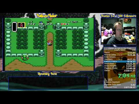 Zelda: A Link to the Past - Low% No Major Glitches - 2:28:10