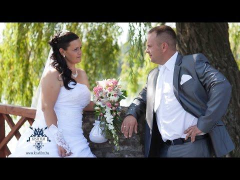 Edina és Tamás esküvői felvétele Nyíregyházán (Safari Panzió)