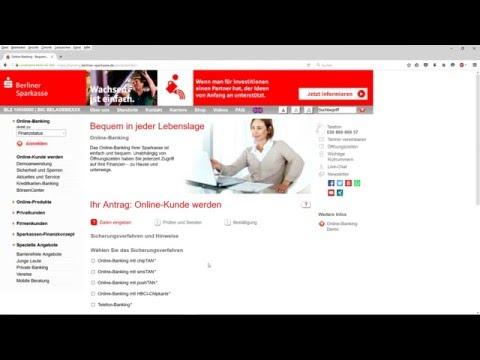 Www.berliner-sparkasse.de   كيف يمكنني التسجيل في الاون لاين بنك عن طريق الانترنت