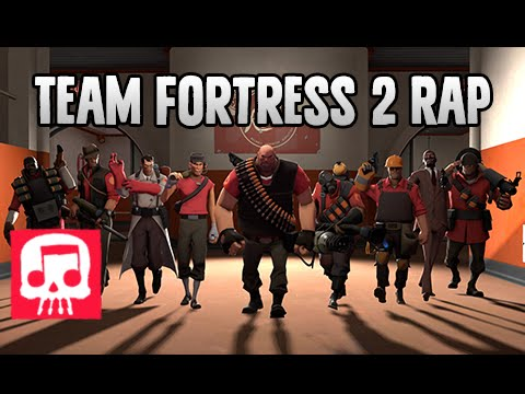 "Thumbnail: Team Fortress 2 Rap by JT Machinima - ""Meet the Crew"""