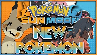 6 NEW POKEMON CONFIRMED! POKEMON SUN AND MOON NEWS AND DISCUSSION
