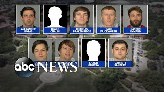 9 fraternity members face charges for hazing